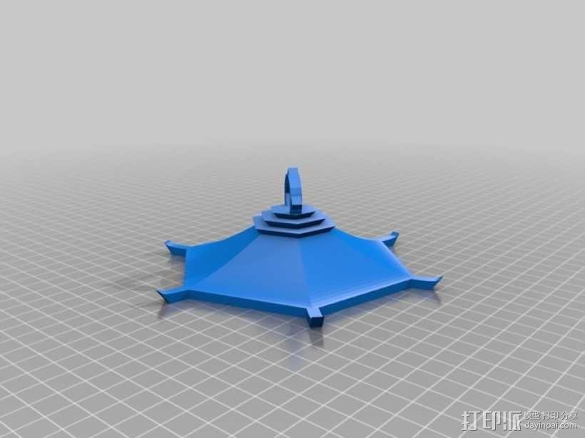 古典传统灯笼 3D模型  图5