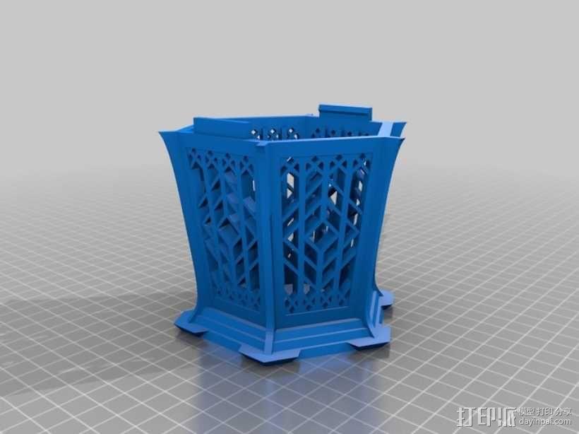 古典传统灯笼 3D模型  图4