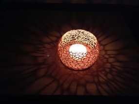 镂空蜡烛固定装置 3D模型