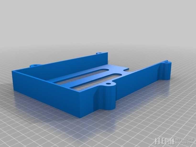堆叠式柜底信件盒 3D模型  图3