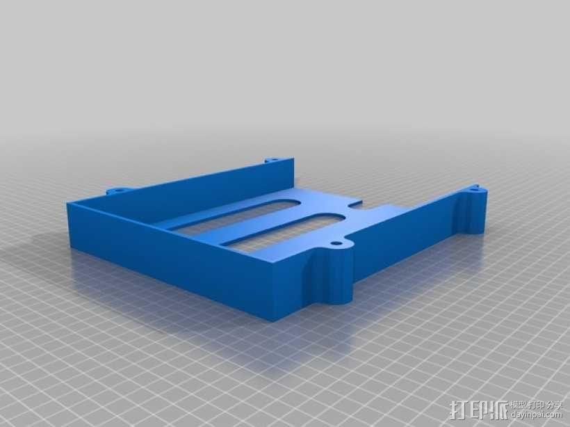 堆叠式柜底信件盒 3D模型  图4