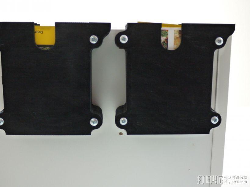 堆叠式柜底信件盒 3D模型  图6