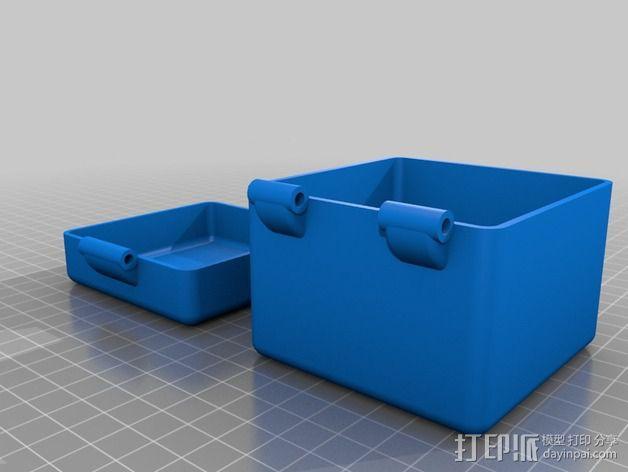 迷你小盒 3D模型  图1