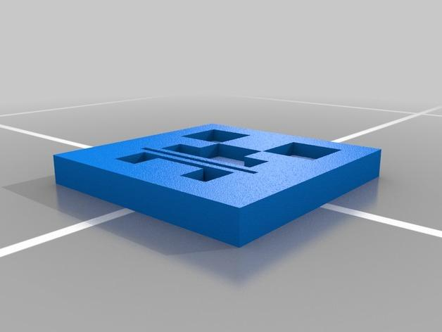 爬行者牙膏挤出装置 3D模型  图2