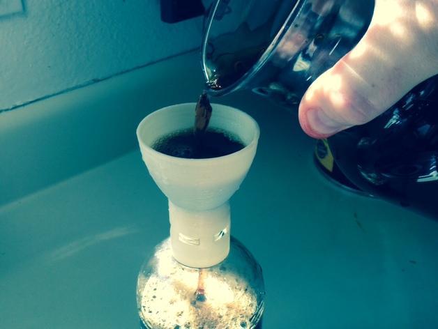 水滴咖啡漏斗 3D模型  图1