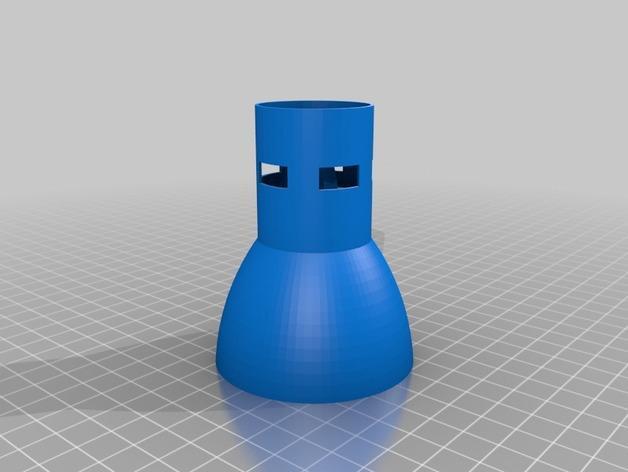 水滴咖啡漏斗 3D模型  图3