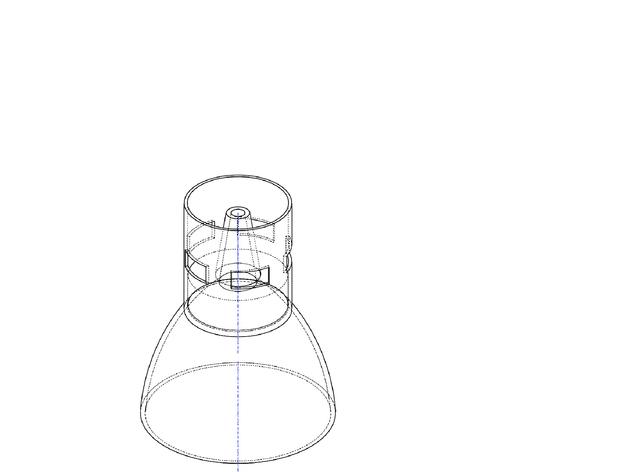 水滴咖啡漏斗 3D模型  图2
