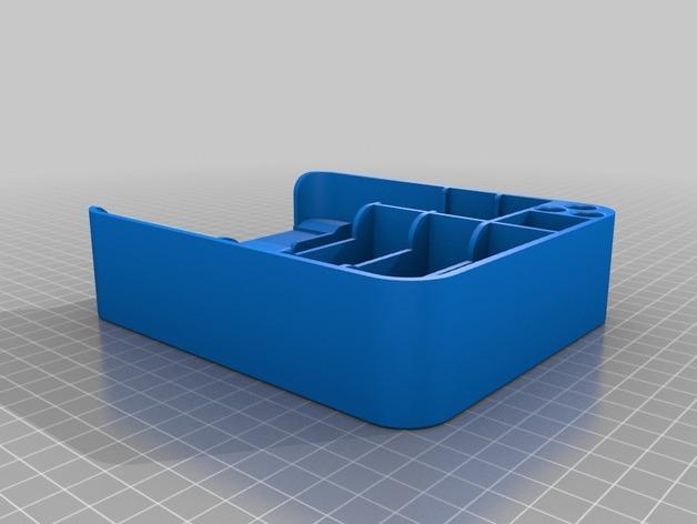 桌面式工具箱 3D模型  图2