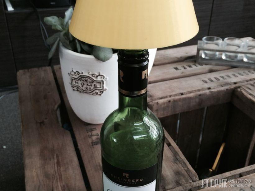酒瓶灯罩 3D模型  图1