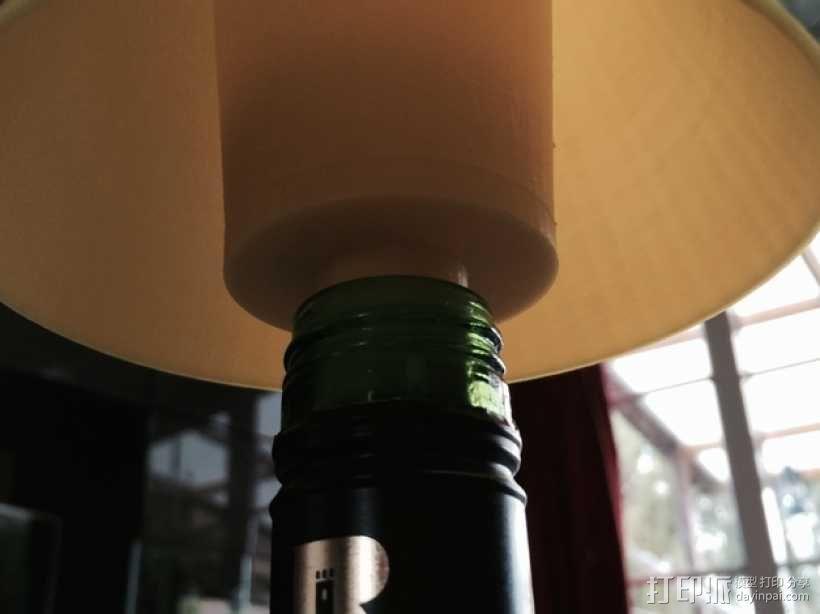 酒瓶灯罩 3D模型  图3
