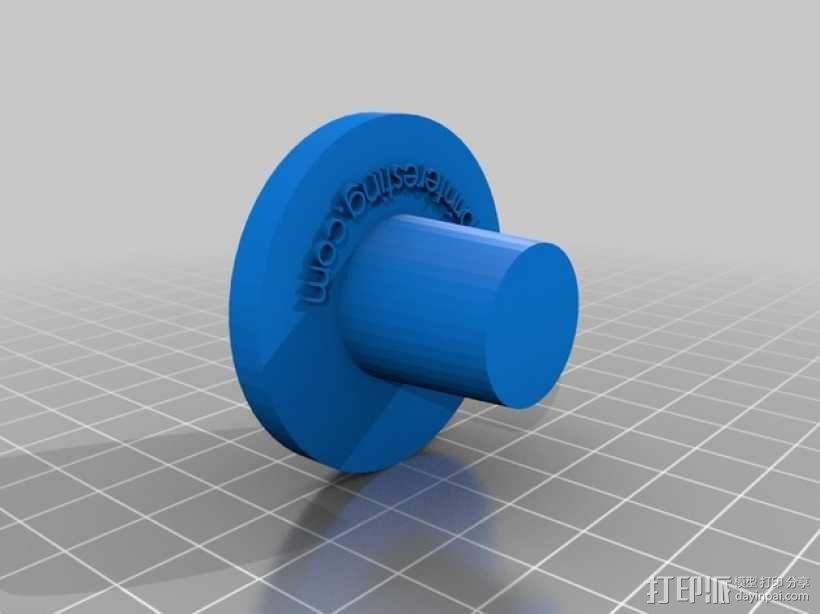 酒瓶灯罩 3D模型  图5