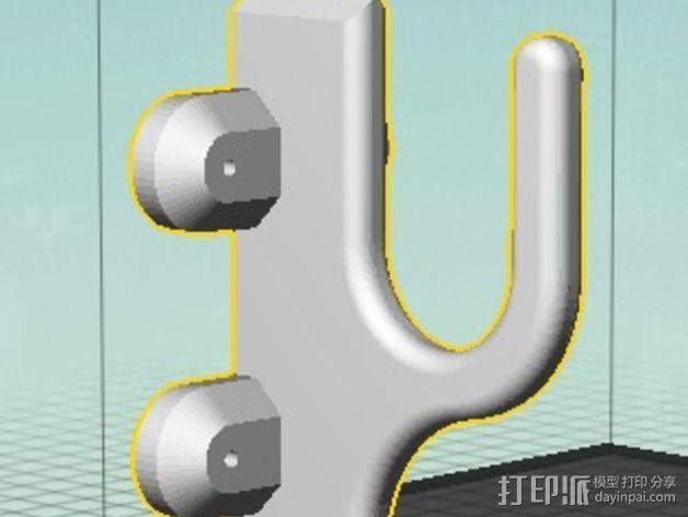 武士刀陈列架 3D模型  图4