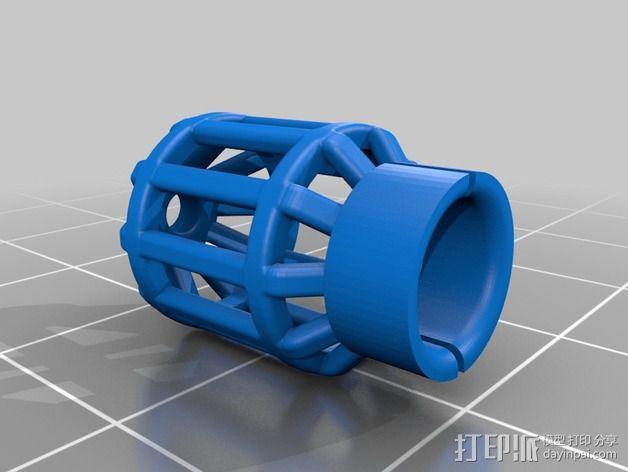 吸管过滤器 3D模型  图1