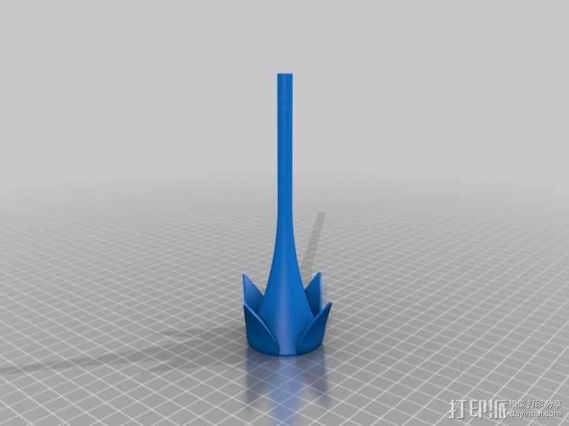 迷你玫瑰模型 3D模型  图3