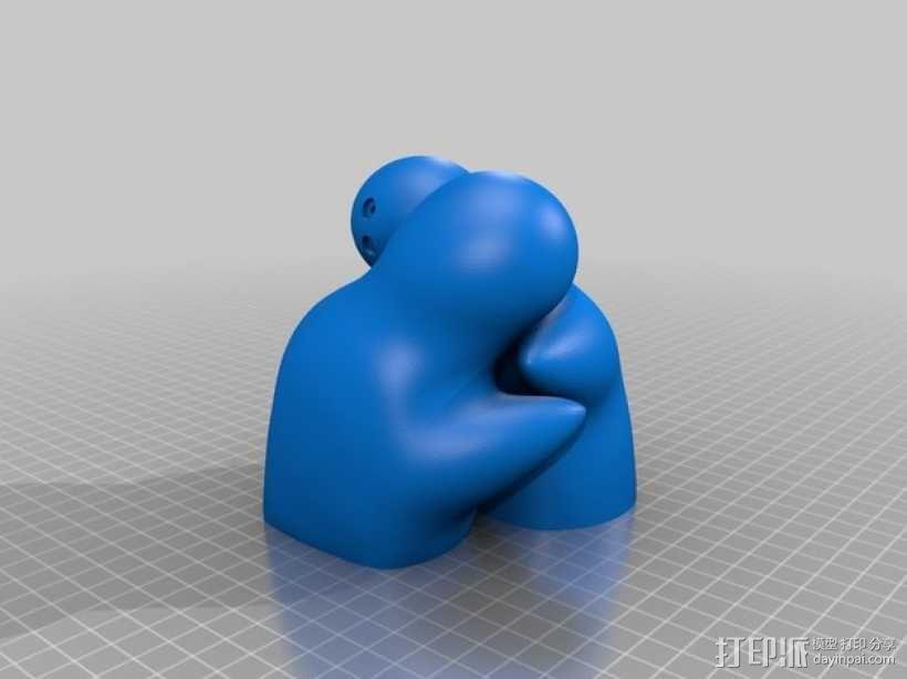 盐罐/胡椒罐 3D模型  图10