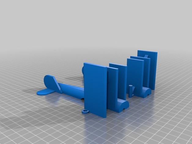 螺旋桨飞机/白云 3D模型  图3