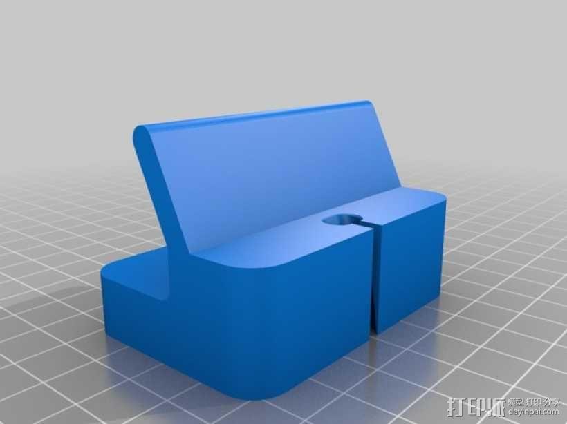 iPhone 5S充电底座 3D模型  图2