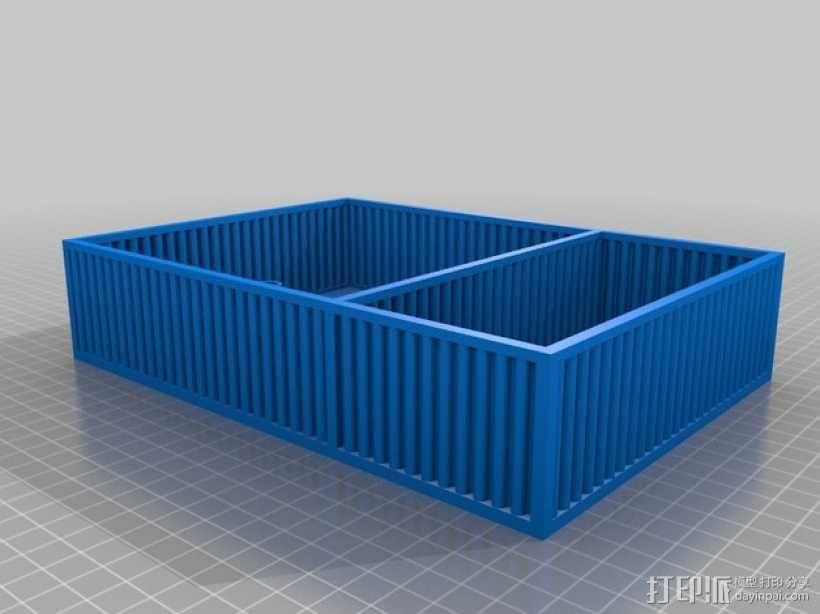 鱼菜共生系统 3D模型  图2