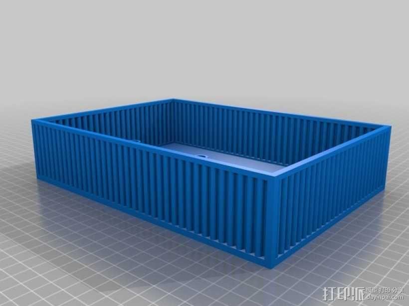 鱼菜共生系统 3D模型  图9
