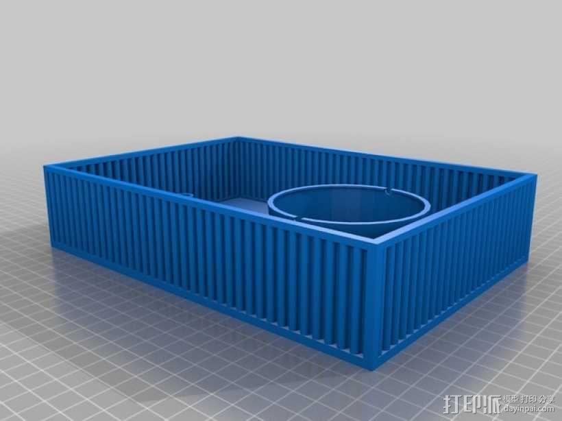 鱼菜共生系统 3D模型  图10