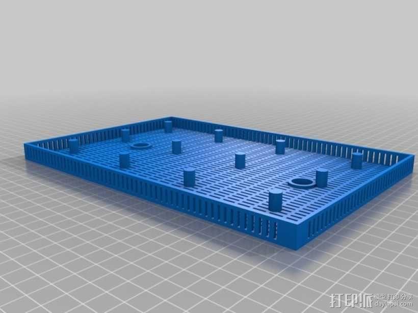 鱼菜共生系统 3D模型  图11