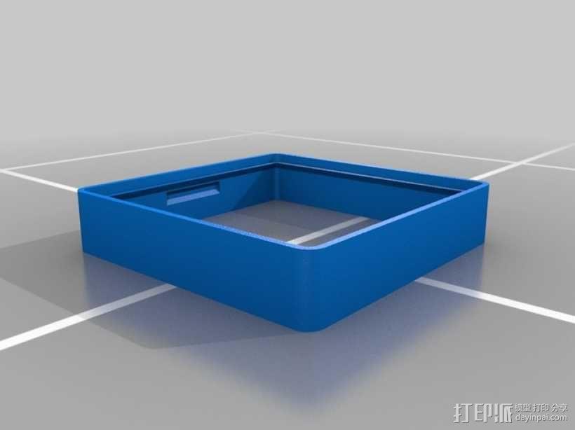 墙壁式开关按钮 3D模型  图8