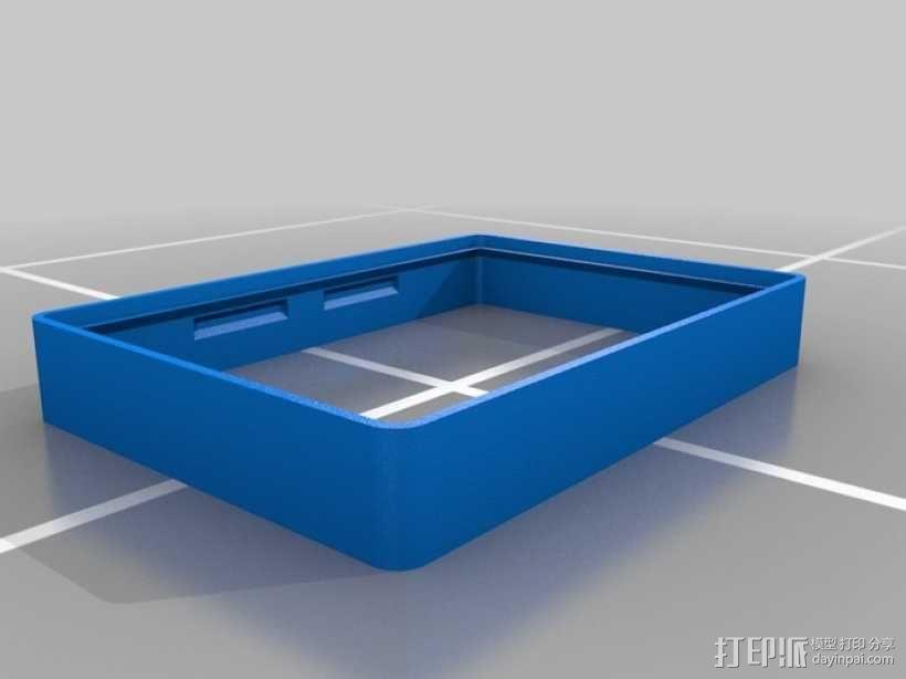 墙壁式开关按钮 3D模型  图9