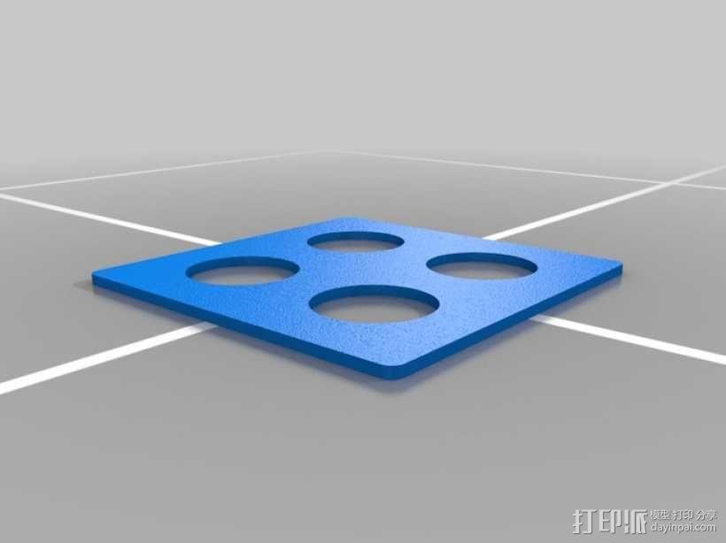 墙壁式开关按钮 3D模型  图11