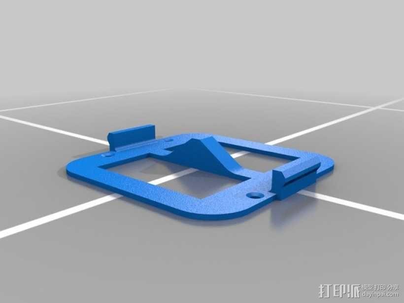 墙壁式开关按钮 3D模型  图14