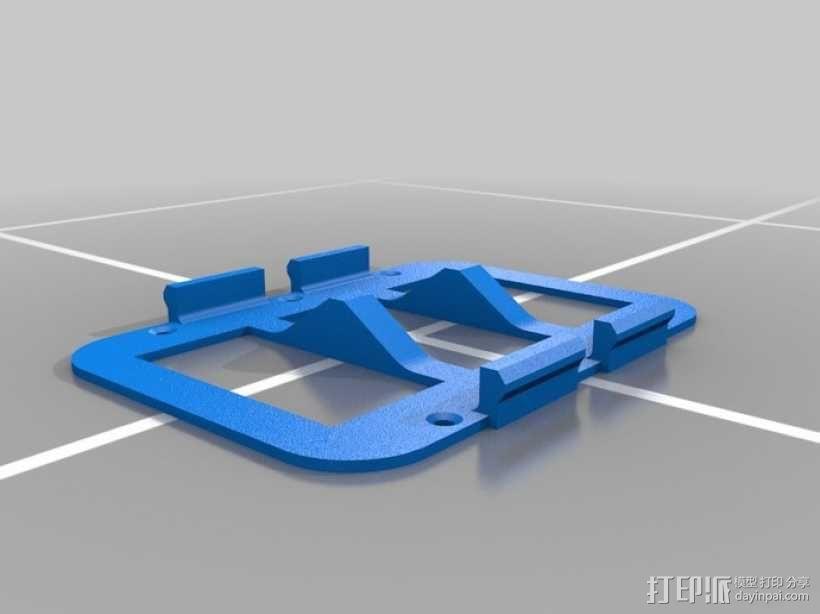 墙壁式开关按钮 3D模型  图15