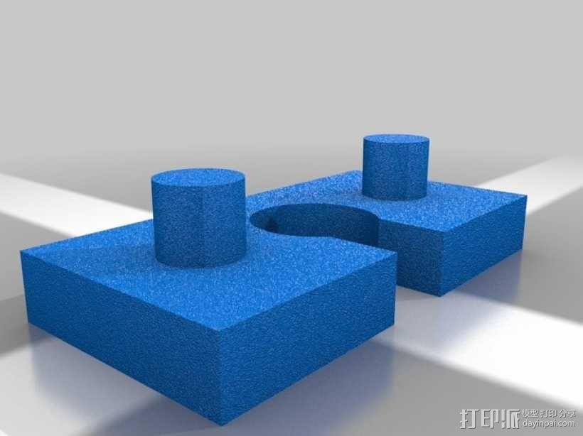 墙壁式开关按钮 3D模型  图17