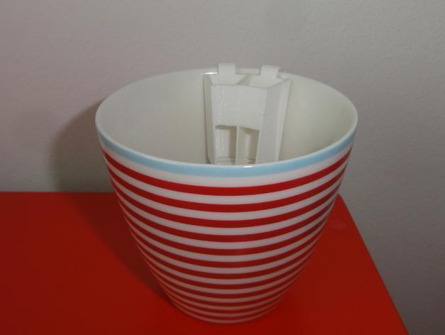 电动牙刷头部固定器 3D模型  图5