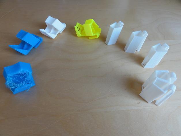 电动牙刷头部固定器 3D模型  图7