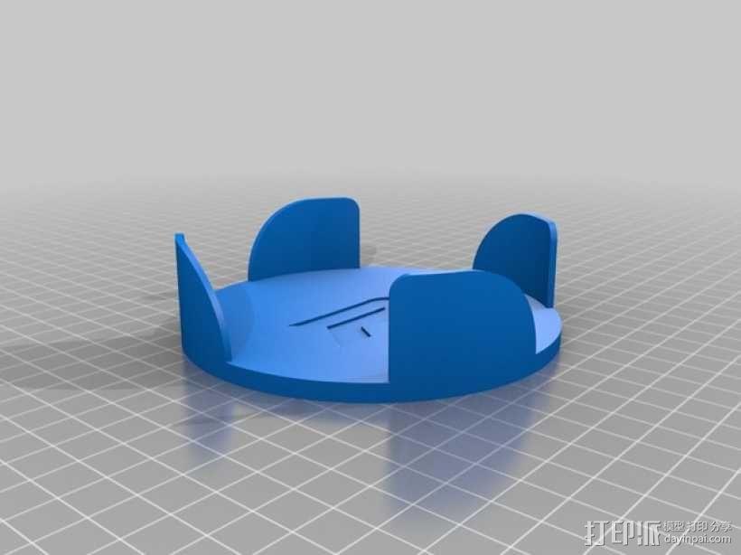 圆形杯托套件 3D模型  图7