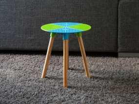迷你小桌子/椅子 3D模型