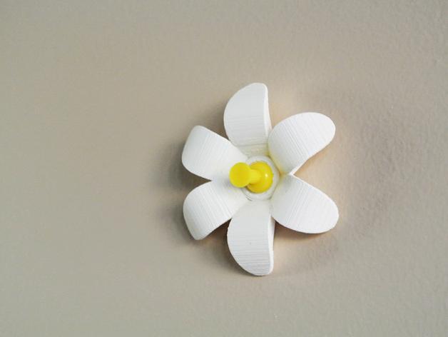 花形图钉#1 3D模型  图3