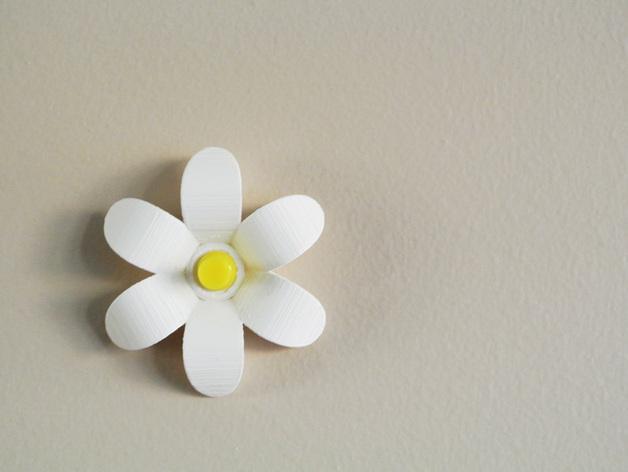 花形图钉#1 3D模型  图2