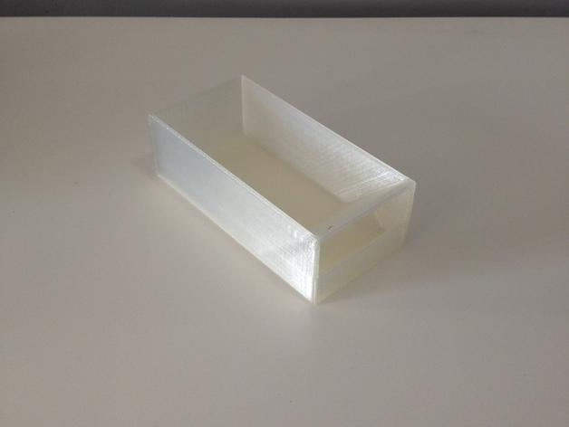 多层多格迷你储物抽屉 3D模型  图8