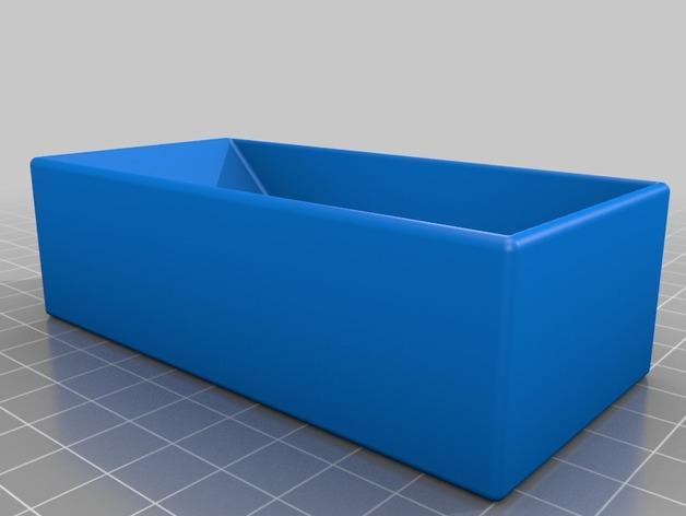 多层多格迷你储物抽屉 3D模型  图11