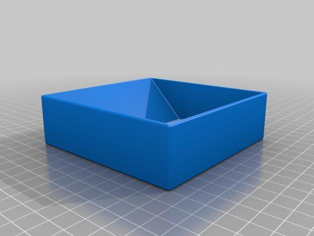 多层多格迷你储物抽屉 3D模型  图12
