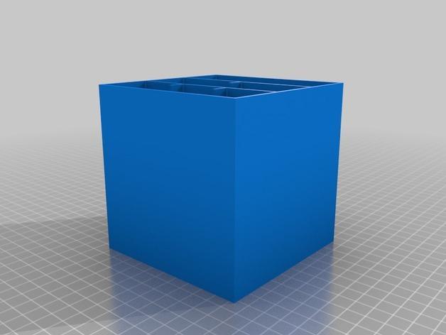 多层多格迷你储物抽屉 3D模型  图15