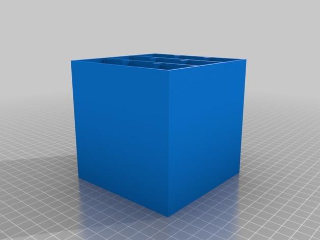 多层多格迷你储物抽屉 3D模型  图16