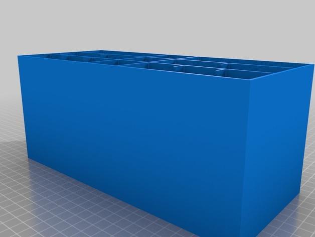 多层多格迷你储物抽屉 3D模型  图17