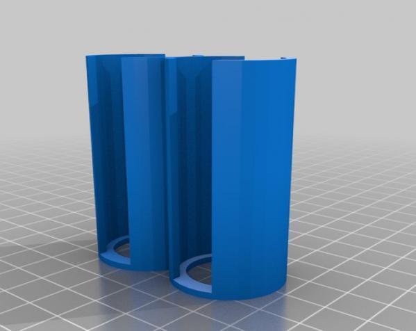 参数化硬币存钱罐 3D模型  图3