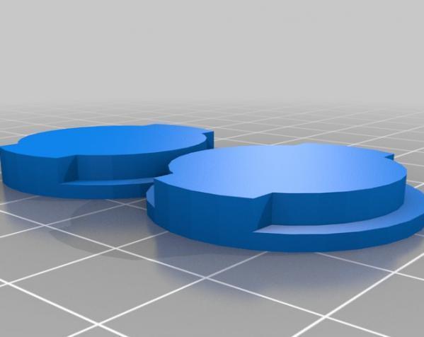 参数化硬币存钱罐 3D模型  图2