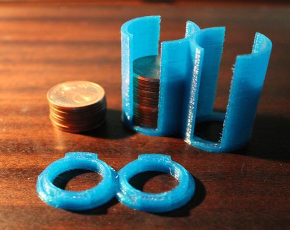 参数化硬币存钱罐 3D模型  图6