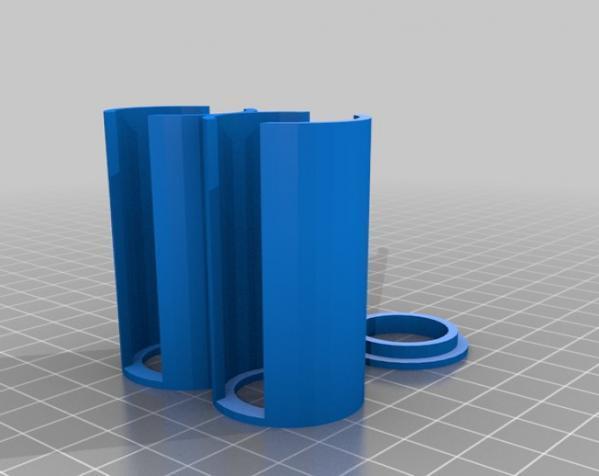 参数化硬币存钱罐 3D模型  图5