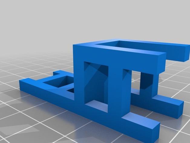 迷你小椅子 3D模型  图2
