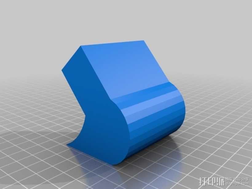三色铅笔架 3D模型  图3