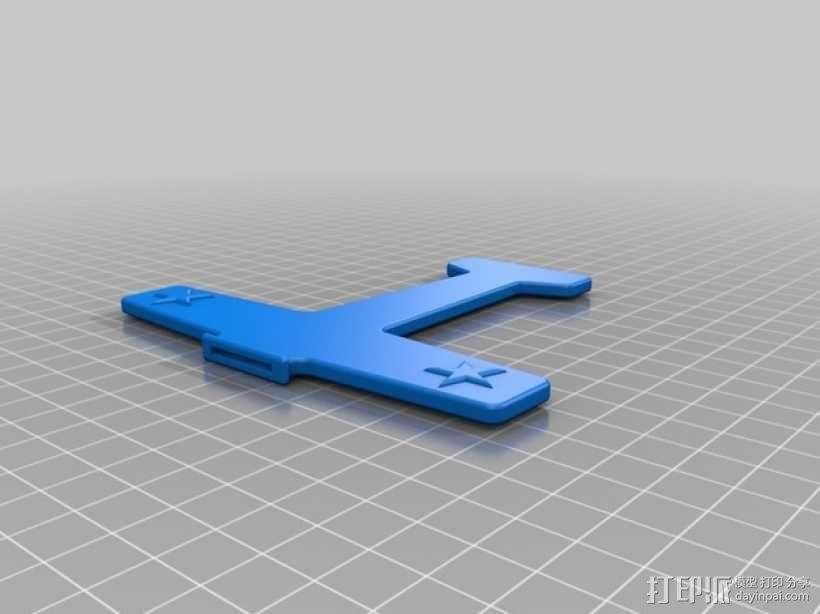 飞机形勺子/叉子 3D模型  图2